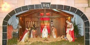 Crèche de la chapelle des Capucins - Noël 2012